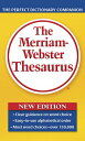 The Merriam-Webster Thesaurus MERM WEB THESAURUS NEW/E [ Merriam-Webster ]