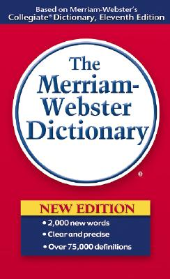 MERRIAM-WEBSTER DICTIONARY,THE(A)