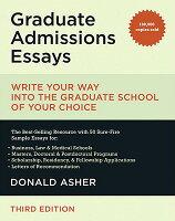 Graduate Admissions Essay