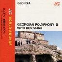 〈グルジア/男声(少年)合唱〉マルトゥベ 奇蹟のポリフォニー~サカルトベロ 少年と若者た...