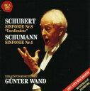 シューベルト:交響曲第8番「未完成」&シューマン:交響曲第4番
