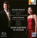 リヒャルト・シュトラウス:ホルン協奏曲第1番/フランツ・シュトラウス:主題と変奏、他 [ ラデク・バボラーク ]