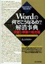 Wordの「何でこうなるの?」解消事典 不審な挙動の処方箋 Wordで作ったWordの本/西