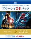 送料無料/アイアンマン/アメイジング・スパイダーマン ブルーレイ2本パック(Blu−ray Disc)