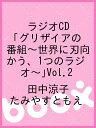 送料無料/ラジオCD「グリザイアの番組〜世界に刃向かう、1つのラジオ〜」Vol.2/田中涼子/たみやすともえ