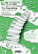 送料無料/Try Everything PIANO & VOCAL ディズニー映画「ズートピア」日本語版主題歌