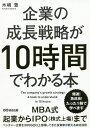 企業の成長戦略が10時間でわかる本/木嶋豊【1000円以上送料無料】