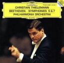 Symphony - 【中古】 ベートーヴェン:交響曲第5番 /クリスティアン・ティーレマン,フィルハーモニア管弦楽団 【中古】afb