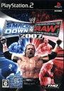 【中古】 WWE2007 SmackDown vs Raw /PS2 【中古】afb