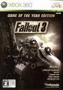 【中古】 Fallout 3 Game of the Year Edition /Xbox360 【