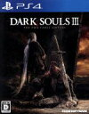 【中古】 DARK SOULS III THE FIRE FADES EDITION /PS4 【中古】afb