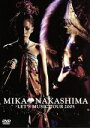 【中古】 MIKA NAKASHIMA LET'S MUSIC TOUR 2005 /中島美嘉 【中古】afb