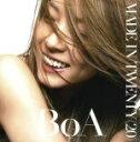 【中古】 【初回盤ボーナストラック収録】MADE IN TWENTY(20) /BoA 【中古】afb