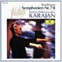 【中古】 ベートーヴェン:交響曲第7&8番 /ヘルベルト フォン カラヤン 【中古】afb
