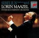 其它 - 【中古】 シベリウス:交響曲第4番・第5番 /ロリン・マゼール 【中古】afb