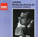 Instrumental Music - 【中古】 ショパン:練習曲 作品10・作品25 /クラウディオ・アラウ(p) 【中古】afb