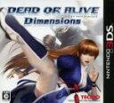 【中古】 DEAD OR ALIVE Dimensions /ニンテンドー3DS 【中古】afb