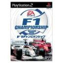 【中古】 F1 チャンピオンシップ シーズン2000 /PS2 【中古】afb