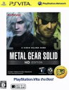 【中古】 METAL GEAR SOLID HD EDITION PlayStationVita the Best /PSVITA 【中古】afb