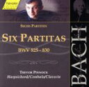 器樂曲 - 【中古】 J.S.バッハ:6つのパルティータ BWV835 /トレヴァー・ピノック 【中古】afb