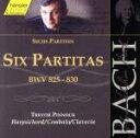 Instrumental Music - 【中古】 J.S.バッハ:6つのパルティータ BWV835 /トレヴァー・ピノック 【中古】afb