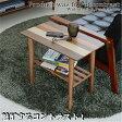 送料無料 サイドテーブル 木製 おしゃれ 木製サイドテーブル ナイトテーブル 机 デスク テーブル ブラウン シンプル ソファサイドテーブル 木製ソファサイドテーブル ソファサイド リビング 木製テーブル 棚付き ラック付き 収納付 ミニテーブル 木製ミニテーブル yost-550