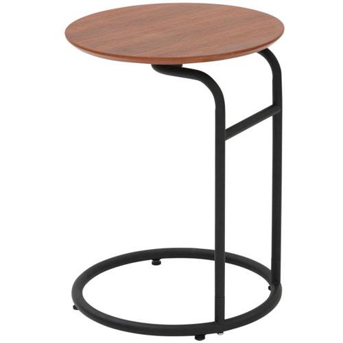 サイドテーブル ピーク 直径40cm ソファテーブル ナイトテーブル ベッドサイドテーブル ミニテーブル オシャレ ソファーテーブル カフェテーブル コーヒーテーブル おしゃれ 木製