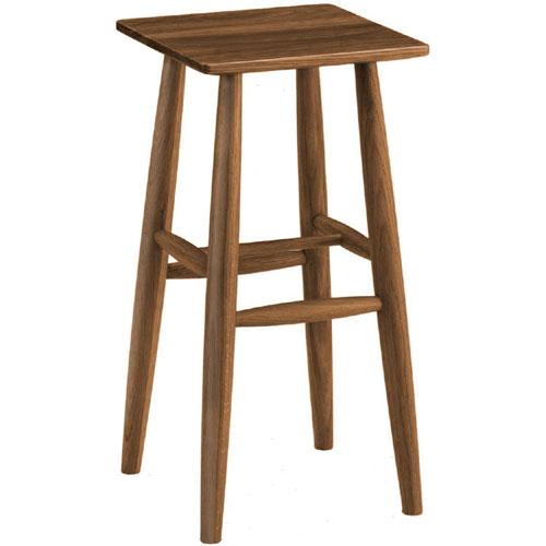 木製ハイスツール オーク ブラウン oak8518