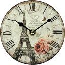 アンティーク置時計 エッフェル ローズ 91688