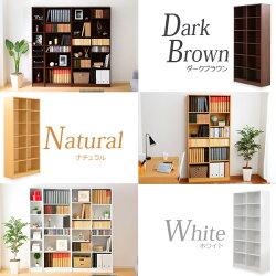 本棚収納コミック収納書棚書斎ブックラック高さ180cm木製多目的ラックCDラックDVDラック