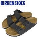 ショッピングビルケンシュトック 正規取扱店 BIRKENSTOCK (ビルケンシュトック) ARIZONA (アリゾナ) サンダル ナロー (幅狭) BLACK (ブラック) BI016