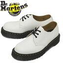 正規取扱店 Dr.Martens (ドクターマーチン) 26654100 1461 3EYE BEX レザーシューズ WHITE