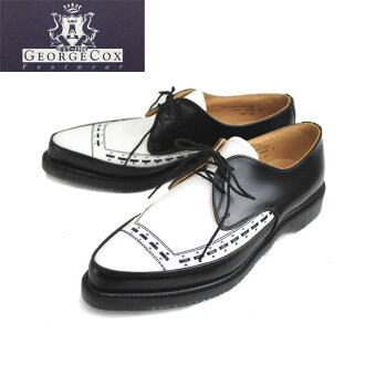 3705 (4065) postage, collect on delivery fee free regular dealer George Cox( George coxswain) AIR SOLE air sole GIBSON Gibson BLACK x WHITE black x white fs3gm