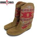 ショッピングMINNETONKA スーパーセール 正規取扱店 MINNETONKA(ミネトンカ) Baja Boot(バジャブーツ) #1573 RED(BROWN) レディース MT334