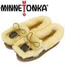 ショッピングミネトンカ 正規取扱店 MINNETONKA (ミネトンカ) 3404S ULUTIMATE SHEEPSKIN SLIPPER アルティメット シープスキン スリッパ Grey MT450