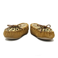 ���ܹ����������������̵�������谷ŹMINNETONKA(�ߥͥȥ�)LeopardCallySlipper(�쥪�ѡ��ɥ���꡼����å�)#40161CINNAMON��ǥ�����MT268