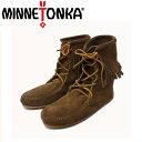 ショッピングMINNETONKA sale セール 正規取扱店 MINNETONKA(ミネトンカ) Tramper Ankle Boots(トランパーアンクルハイブーツ)#428 DUSTY BROWN SUEDE レディース MT222