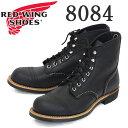 ショッピングレッドウィング 正規取扱店 2020年 新作 REDWING (レッドウィング) 8084 Iron Ranger アイアンレンジャー ブラックハーネス