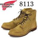 正規取扱店 Red Wing(レッドウィング レッドウイング) 8113 IRON RANGE BOOTS(アイアンレンジブーツ) Hawthorne Muleskinner オイルラフアウト