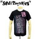 ショッピングEDITION 正規取扱店 SEDITIONARIES by 666 (セディショナリーズ) STZ0005 OPEN インサイドアウトTシャツ ブラック