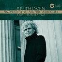 Symphony - ベートーヴェン:交響曲第7番&第8番/ラトル【2500円以上送料無料】