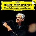 Symphony - ブラームス:交響曲第2番、大学祝典序曲/バーンスタイン【2500円以上送料無料】