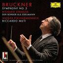 其它 - ブルックナー:交響曲第2番/R.シュトラウス:町人貴族/ムーティ【2500円以上送料無料】
