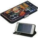 【メール便OK】【手帳型 iPhone5/5s/SE カバー】【for iPhone5/5s/SE Diary】スマホケース 手帳タイプ【Reggae / レゲエ2】/楽天カード分割
