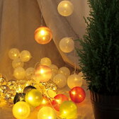 【KCXG3500 KCXG3510 KCXG3520 KCXG3530 KCXG3540 KCXG3560】□【PR4】アメイジング LEDボールガーランド【パステル カラフル ホワイトニット ゴールド カラフルニット ホワイトビーズ 飾り ディスプレイ オーナメント クリスマス SPICE】