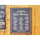 楽天雑貨とアウトドアのbosky【クーポン対象商品】 BLACK ART BOARD STAIN REMOVAL ブラックアートボード ステインリムーバル 2121 □【CL5】 サインボード 壁面装飾 壁掛け 飾り アートボード インダストリアル 男前インテリア ディスプレイ ウォールデコ シンプル magnet セール