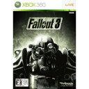 【新品】 XBOX360 Fallout 3(フォールアウト 3)【CEROレーティング「Z」】