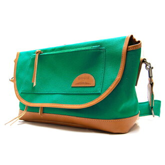 fs3gm made in -1 1 MOUTH Delicious mark shoulder bag mouse Delicious mark MJS11019 EMERALD GREEN Japan