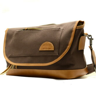 MOUTH Delicious mark-1 shoulder bag mouse delicious mark 1 MJS 11019 BROWN made in Japan