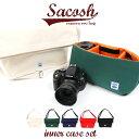 MOUTH カメラバッグ ショルダーバッグ 日本製 インナーセット Delicious Sacosh サコッシュ MJS15044 MJC12024 [2WAY...